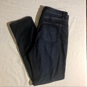 J. Jill Denim High-Rse Straight Leg Jeans Size 12